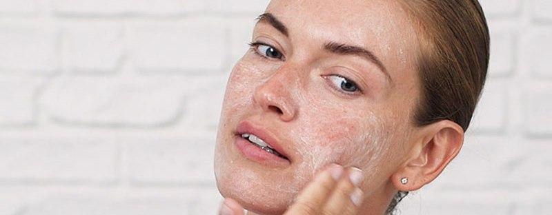 exfoliation peau