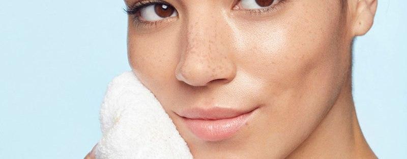 peau sans imperfections